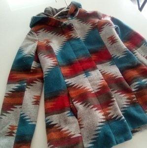 Rue 21 Medium Native style coat
